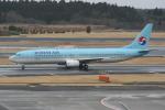 いっとくさんが、成田国際空港で撮影した大韓航空 737-9B5の航空フォト(写真)