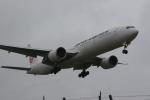 いっとくさんが、成田国際空港で撮影した日本航空 777-346/ERの航空フォト(写真)