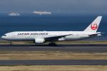 てくさんが、羽田空港で撮影した日本航空 777-246の航空フォト(写真)