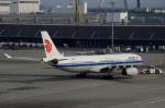 てくさんが、羽田空港で撮影した中国国際航空 A330-343Xの航空フォト(写真)