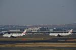 てくさんが、羽田空港で撮影した日本航空 767-346/ERの航空フォト(写真)