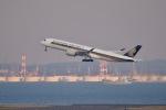 shiraponさんが、羽田空港で撮影したシンガポール航空 A350-941XWBの航空フォト(写真)