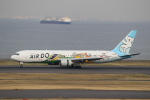 お侍さんが、羽田空港で撮影したAIR DO 767-381の航空フォト(写真)