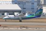 青春の1ページさんが、福岡空港で撮影したオリエンタルエアブリッジ DHC-8-201Q Dash 8の航空フォト(写真)