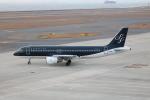 SIさんが、中部国際空港で撮影したスターフライヤー A320-214の航空フォト(写真)
