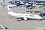 SIさんが、中部国際空港で撮影した日本航空 737-846の航空フォト(写真)