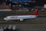 MOHICANさんが、福岡空港で撮影したイースター航空 737-86Jの航空フォト(写真)