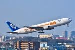 naripicさんが、伊丹空港で撮影した全日空 767-381/ERの航空フォト(写真)