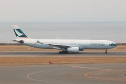 SIさんが、中部国際空港で撮影したキャセイパシフィック航空 A330-342Xの航空フォト(写真)