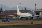 マリオ先輩さんが、横田基地で撮影したアメリカ海軍 C-40A Clipper (737-7AFC)の航空フォト(写真)
