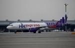 ハピネスさんが、関西国際空港で撮影した香港エクスプレス A320-271Nの航空フォト(写真)