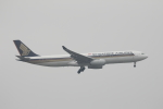 Masahiro0さんが、台湾桃園国際空港で撮影したシンガポール航空 A330-343Xの航空フォト(写真)