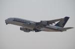 YWさんが、関西国際空港で撮影したシンガポール航空 A380-841の航空フォト(写真)