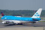 xiel0525さんが、成田国際空港で撮影したKLMオランダ航空 747-406Mの航空フォト(写真)