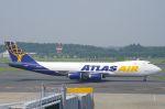 xiel0525さんが、成田国際空港で撮影したアトラス航空 747-87UF/SCDの航空フォト(写真)