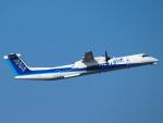えぬえむさんが、中部国際空港で撮影したANAウイングス DHC-8-402Q Dash 8の航空フォト(写真)