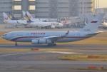 あしゅーさんが、羽田空港で撮影したロシア航空 Il-96-300の航空フォト(写真)