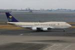 korosukeさんが、羽田空港で撮影したサウジアラビア王国政府 747-468の航空フォト(写真)