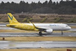 naripicさんが、成田国際空港で撮影したバニラエア A320-214の航空フォト(写真)