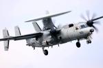 Flankerさんが、厚木飛行場で撮影したアメリカ海軍 E-2C Hawkeyeの航空フォト(写真)