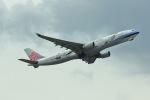 おっしーさんが、成田国際空港で撮影したチャイナエアライン A330-302の航空フォト(写真)
