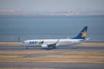 J-birdさんが、羽田空港で撮影したスカイマーク 737-8FZの航空フォト(写真)