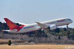 吉田高士さんが、成田国際空港で撮影したエア・インディア 787-8 Dreamlinerの航空フォト(写真)