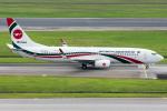 Tomo-Papaさんが、シンガポール・チャンギ国際空港で撮影したビーマン・バングラデシュ航空 737-8E9の航空フォト(写真)