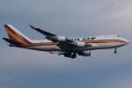 (`・ω・´)さんが、横田基地で撮影したカリッタ エア 747-4HQF/ERの航空フォト(写真)