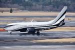 sky77さんが、成田国際空港で撮影したアメリカ個人所有 737-7JV BBJの航空フォト(写真)