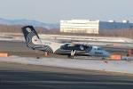 ショウさんが、新千歳空港で撮影したオーロラ DHC-8-200Q Dash 8の航空フォト(写真)