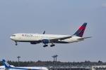 Mochi7D2さんが、成田国際空港で撮影したデルタ航空 767-332/ERの航空フォト(写真)