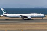 zibaさんが、中部国際空港で撮影したキャセイパシフィック航空 777-367の航空フォト(写真)