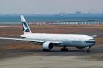 zibaさんが、中部国際空港で撮影したキャセイパシフィック航空 777-367/ERの航空フォト(写真)