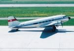 NH642さんが、チューリッヒ空港で撮影したクラシック エア DC-3の航空フォト(写真)