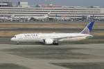pringlesさんが、羽田空港で撮影したユナイテッド航空 787-9の航空フォト(写真)