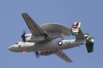 とらとらさんが、厚木飛行場で撮影したアメリカ海軍 E-2C Hawkeyeの航空フォト(写真)