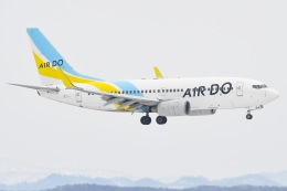 JA8961RJOOさんが、新千歳空港で撮影したAIR DO 737-781の航空フォト(写真)