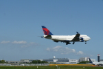 timeさんが、成田国際空港で撮影したデルタ航空 747-451の航空フォト(写真)