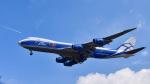 パンダさんが、成田国際空港で撮影したエアブリッジ・カーゴ・エアラインズ 747-8HVFの航空フォト(写真)
