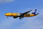 まったり屋さんが、羽田空港で撮影した全日空 777-281/ERの航空フォト(写真)