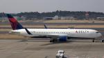 sakuraさんが、成田国際空港で撮影したデルタ航空 767-3P6/ERの航空フォト(写真)