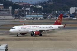 MOHICANさんが、福岡空港で撮影した吉祥航空 A320-214の航空フォト(写真)
