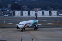 MOHICANさんが、福岡空港で撮影したマカオ航空 A321-231の航空フォト(写真)