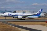 まんぼ しりうすさんが、伊丹空港で撮影した全日空 787-881の航空フォト(写真)