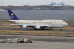 空軍一號さんが、羽田空港で撮影したサウジアラビア王国政府 747-468の航空フォト(写真)