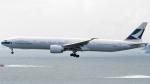 誘喜さんが、香港国際空港で撮影したキャセイパシフィック航空 777-367/ERの航空フォト(写真)