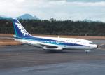 プルシアンブルーさんが、仙台空港で撮影したエアーニッポン 737-281/Advの航空フォト(写真)