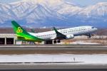 noriphotoさんが、新千歳空港で撮影した春秋航空日本 737-8ALの航空フォト(写真)