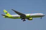 zettaishinさんが、台湾桃園国際空港で撮影したジンエアー 777-2B5/ERの航空フォト(写真)